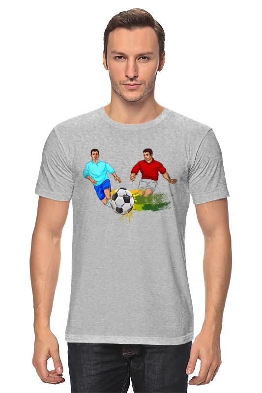 Футболка классическая Printio Футболисты (1) игра футболисты и красавицы барбоскины