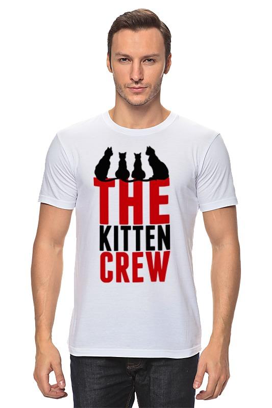 цена на Футболка классическая Printio Команда кошек