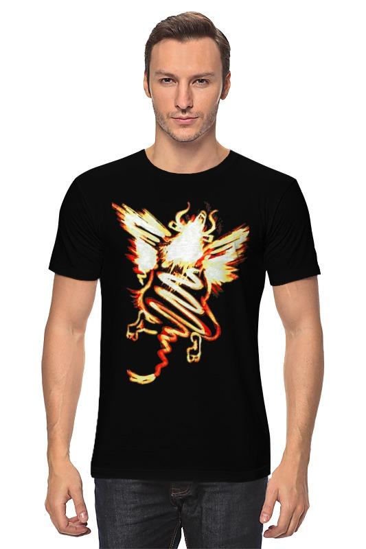 Футболка классическая Printio Полет шмеля (оранж) футболка print bar полет приведения