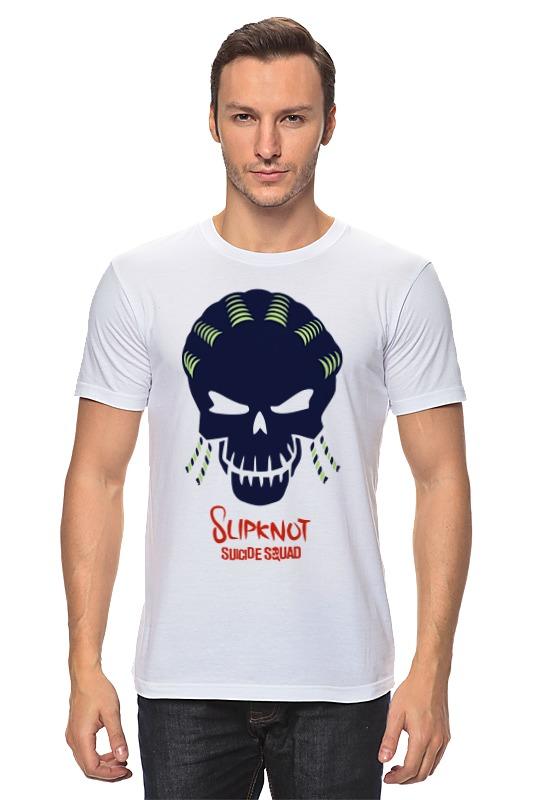 Футболка классическая Printio Слипкнот (отряд самоубийц) футболка рингер printio слипкнот  отряд самоубийц