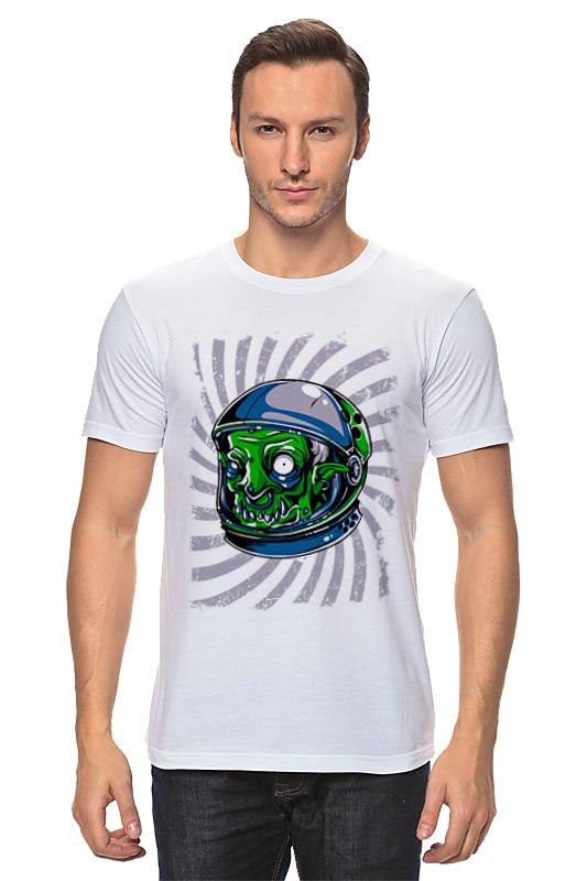Футболка классическая Printio Пришелец футболка классическая printio пришелец ufo