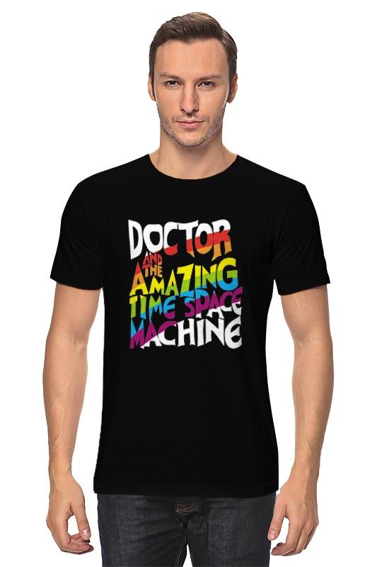 Футболка классическая Printio Доктор кто (doctor who) doctor who archives prisoners of time omnibus