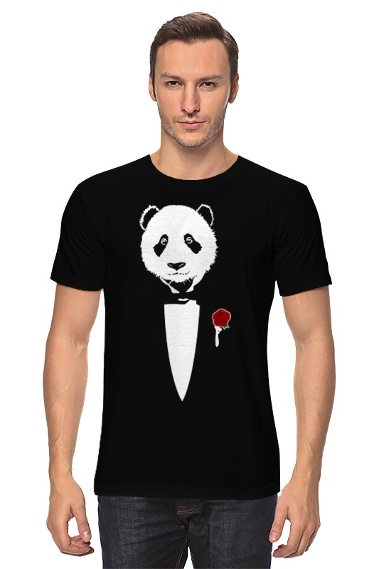 Printio Panda godfather puzo m godfather