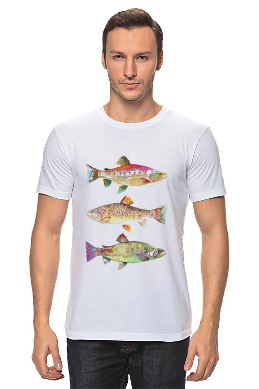 Футболка классическая Printio Рыбки футболка классическая printio рыбки