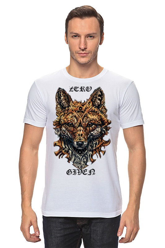 Printio Zero fox given футболка wearcraft premium slim fit printio zero fox given