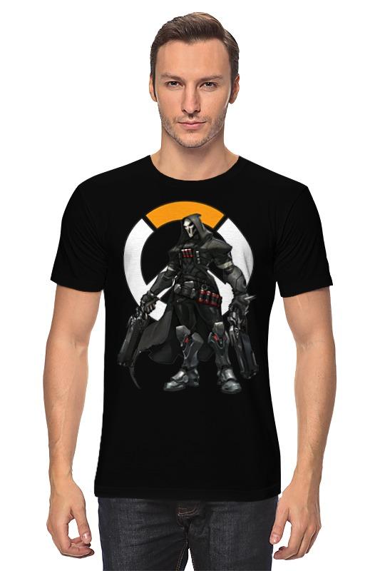 Футболка классическая Printio Overwatch reaper / жнец овервотч