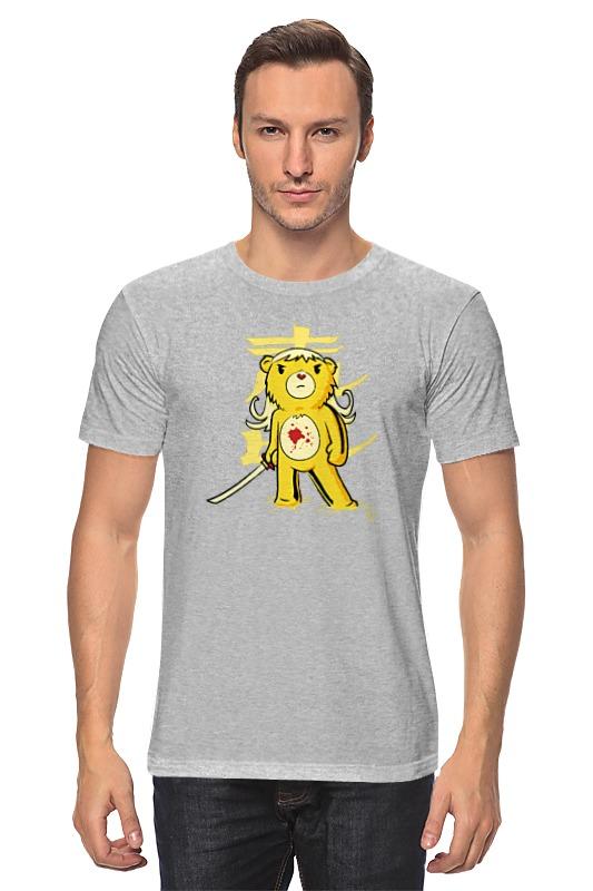 Футболка классическая Printio Медведь (убить билла) футболка для беременных printio убить билла