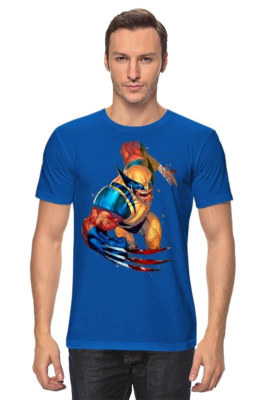 Футболка классическая Printio Wolverine