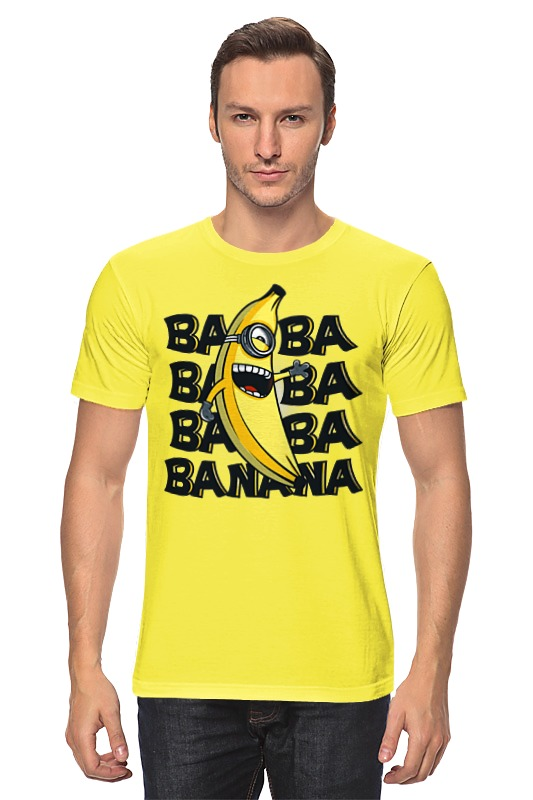 Printio Ba ba banana цена в Москве и Питере