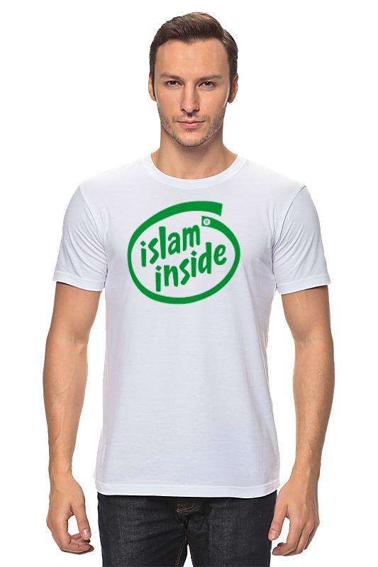 Футболка классическая Printio Ислам внутри zamzam zamzam люблю ислам