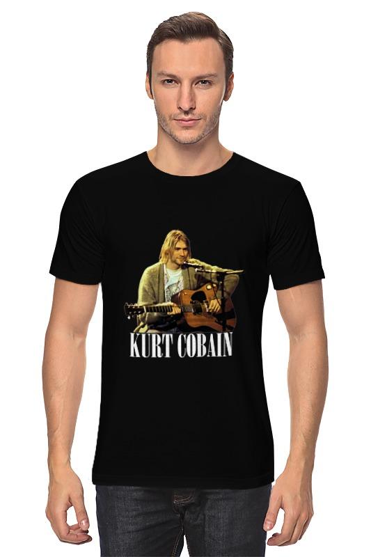Футболка классическая Printio Nirvana kurt cobain guitar t-shirt футболка классическая printio dota2 t shirt