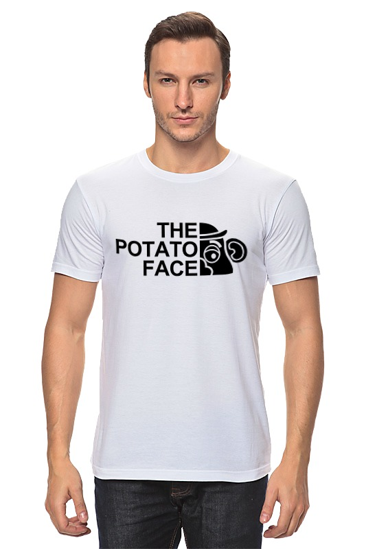 Футболка классическая Printio Картошка футболка wearcraft premium printio картошка