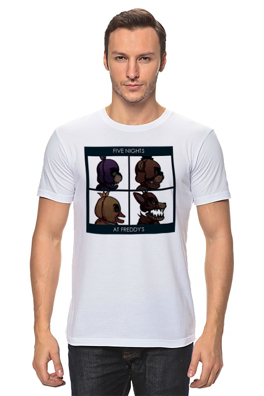 Футболка классическая Printio Five nights at freddy's худи print bar five nights at freddy's