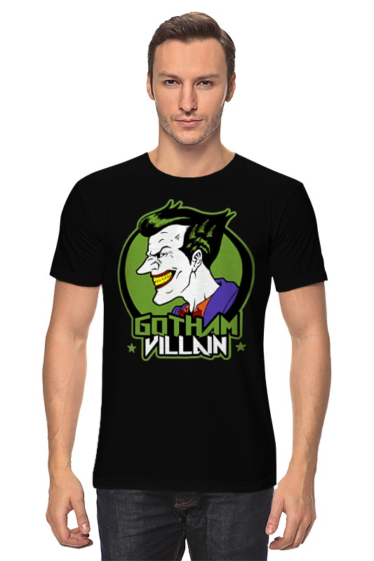 Футболка классическая Printio Джокер (joker) футболка классическая printio the joker