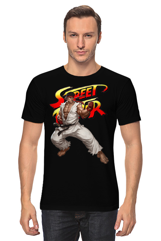 все цены на Футболка классическая Printio Street fighter ryu