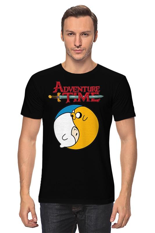 Футболка классическая Printio Adventure time / время приключений футболка классическая printio adventure time