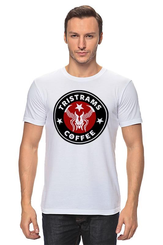 Футболка классическая Printio Tristrams coffee (diablo) лонгслив printio tristrams coffee diablo