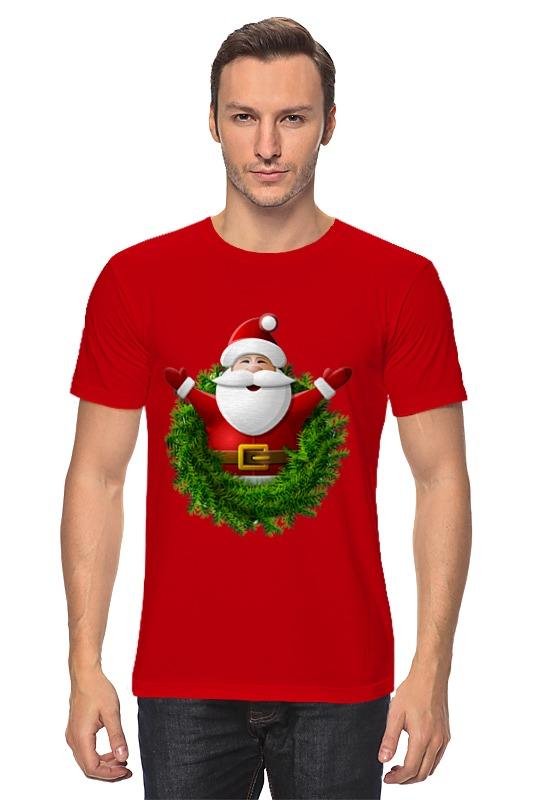 Футболка классическая Printio Санта футболка классическая printio девушка в венке