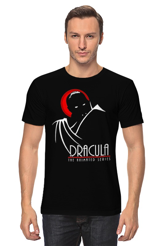Футболка классическая Printio Дракула дракула