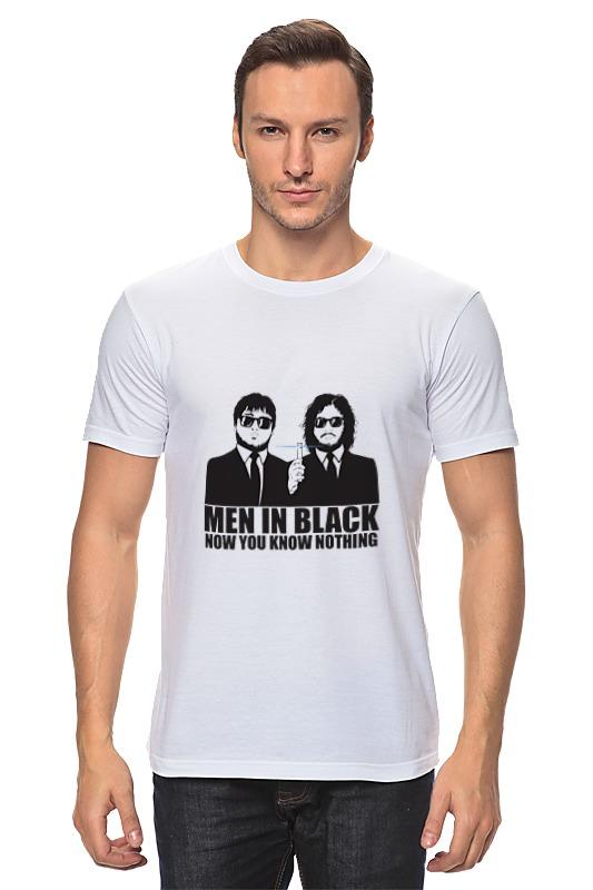 Printio Ты ничего не знаешь футболка классическая printio люди в черном ты ничего не знаешь