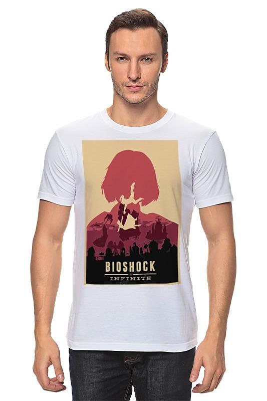 Футболка классическая Printio Bioshock - elizabeth bioshock infinite цифровая версия