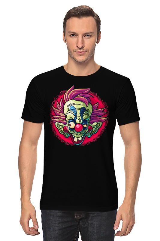 Футболка классическая Printio Безумный клоун