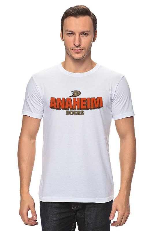 Футболка классическая Printio Anaheim ducks телевизор haier le50k5500tf