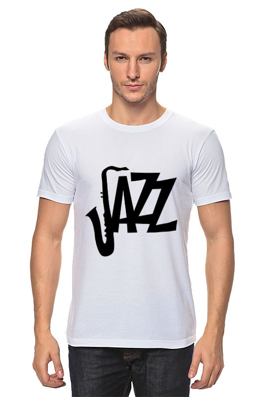 Футболка классическая Printio Джаз (jazz) футболка классическая printio джаз клуб jazz club