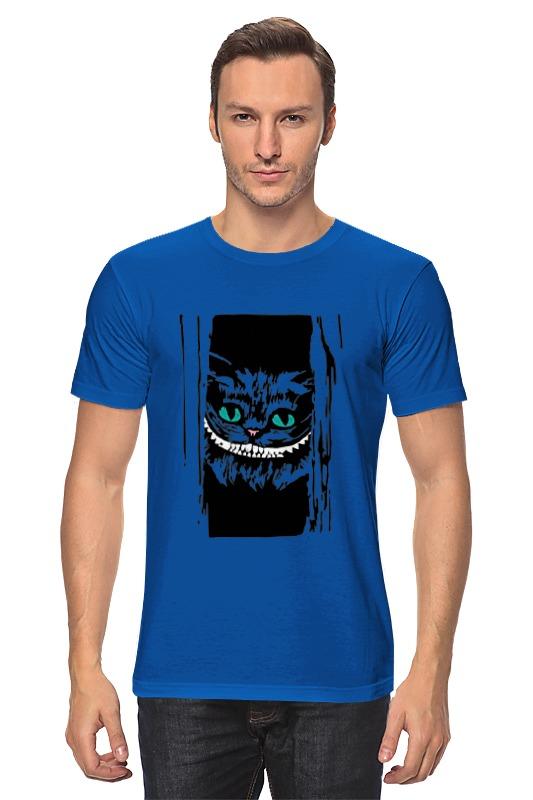Футболка классическая Printio Чеширский кот (алиса в стране чудес) рудько м худ алиса в стране чудес