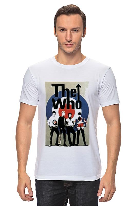 Футболка классическая Printio The who футболка классическая printio the black keys