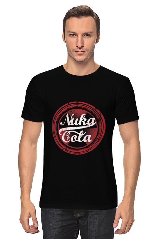 Футболка классическая Printio Nuka cola cola print pencil case