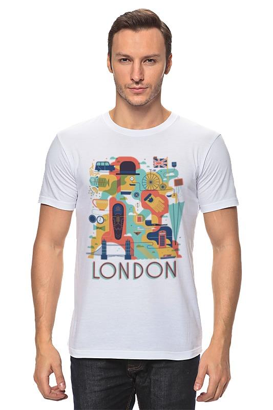 Футболка классическая Printio Лондон как дешевые билеты в лондон