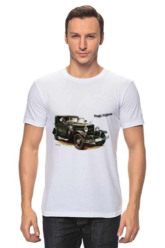 Футболка классическая Printio Ретроавтомобили чартер для всех