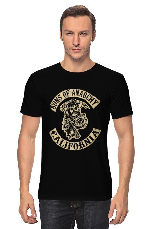 Футболка классическая Printio Sons of anarchy california майка классическая printio sons of anarchy t shirt