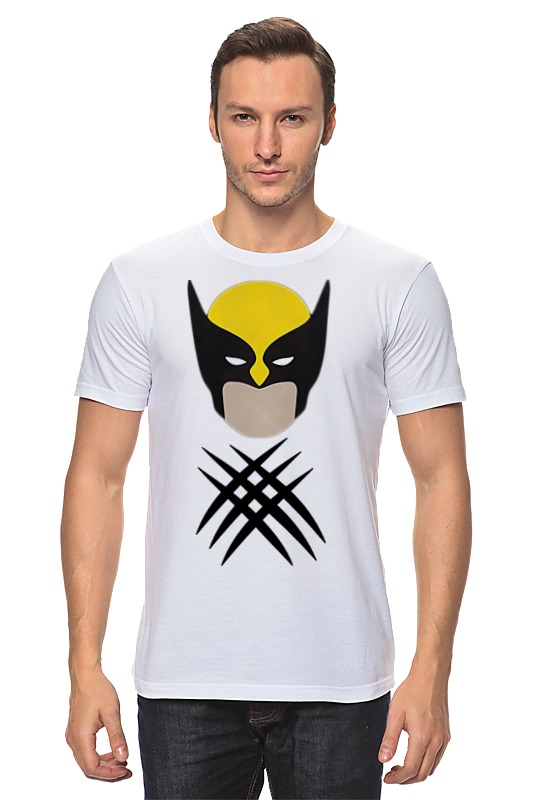 Футболка классическая Printio Росомаха (люди-икс) футболка классическая printio росомаха люди икс