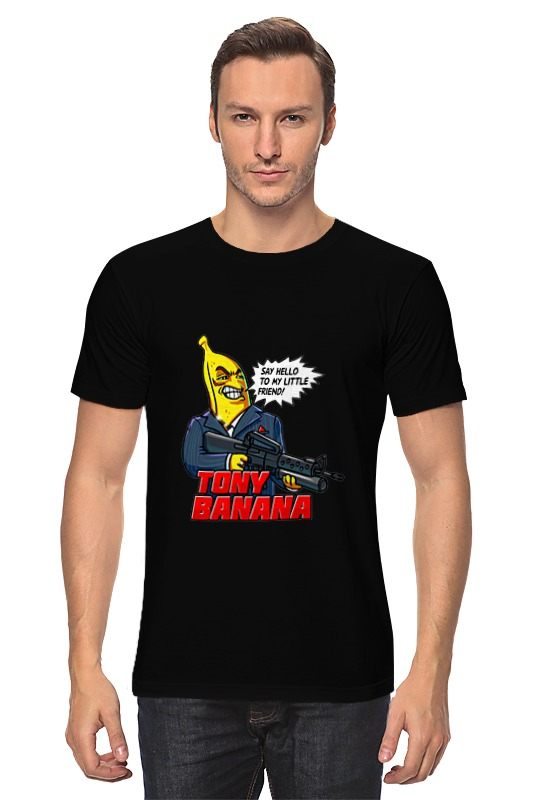 Футболка классическая Printio Tony banana
