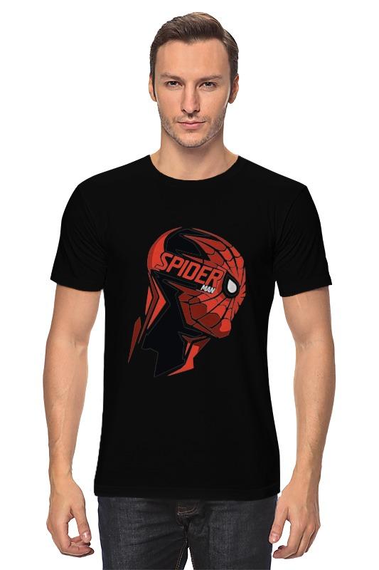 Футболка классическая Printio Человек паук ( spider man ) академия групп пенал человек паук