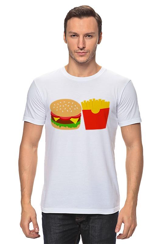 Футболка классическая Printio Бергер и картошка фри футболка wearcraft premium printio картошка