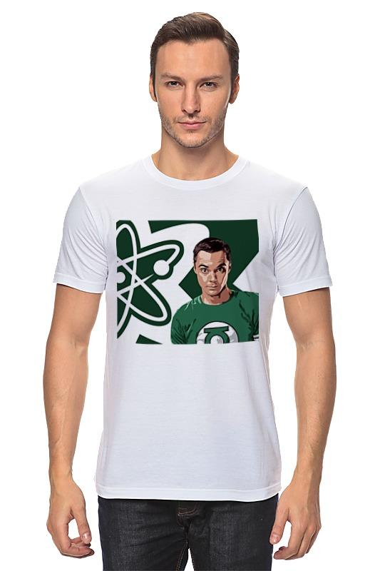 Футболка классическая Printio Теория большого взрыва 1 футболка классическая printio теория большого бадабума