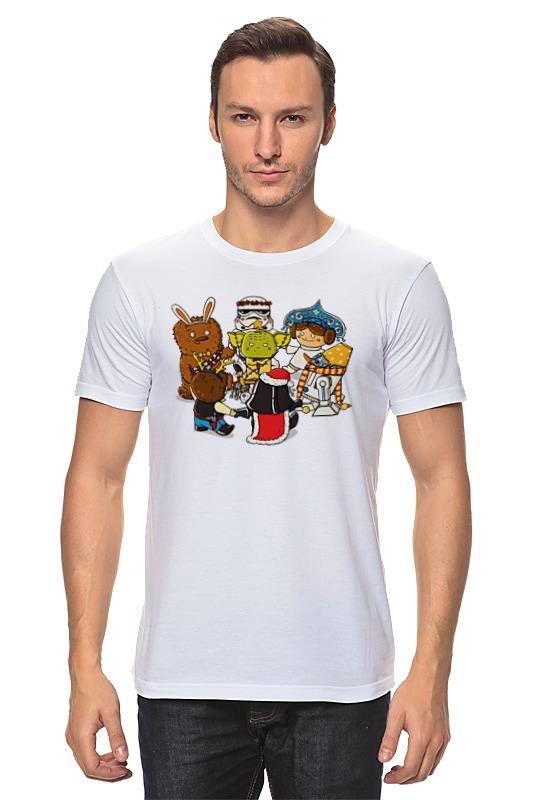 Футболка классическая Printio Звёздные войны – новый год ostin футболка с новогодним принтом