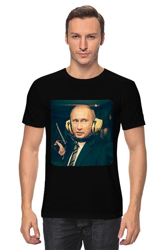 где купить  Футболка классическая Printio Vladimir putin  по лучшей цене