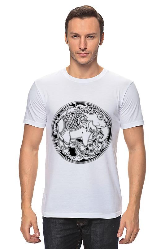 Printio Индийский слон белый слон белый слон пижама бирюзово коричневая