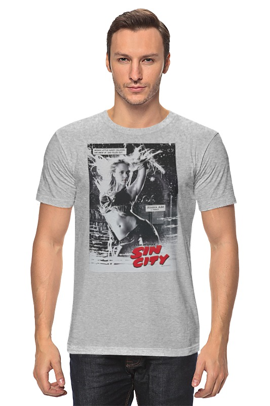 Футболка классическая Printio Sin city - stenley leads футболка wearcraft premium slim fit printio sin city stenley leads