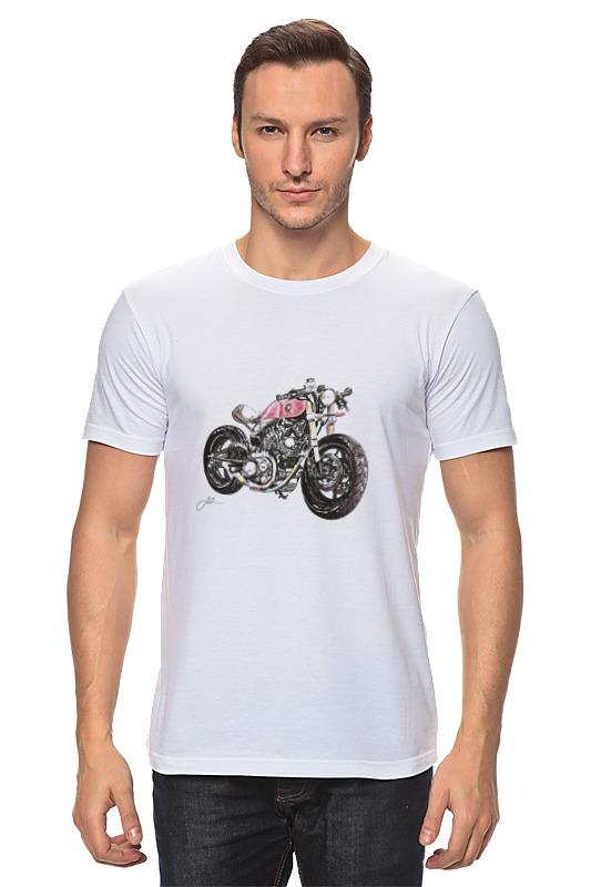 Футболка классическая Printio Мотоцикл