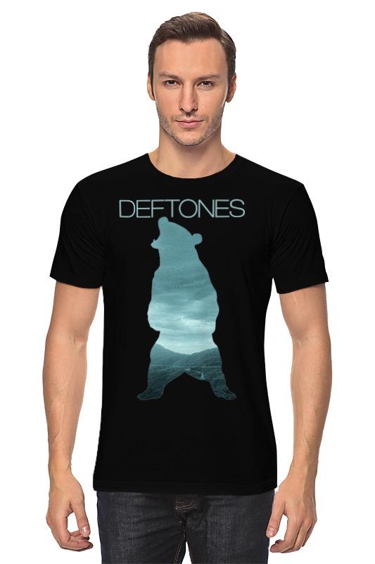 Футболка классическая Printio Deftones медведь deftones deftones deftones