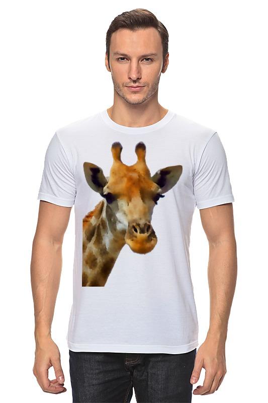 Футболка классическая Printio Жираф babyono жираф желтый
