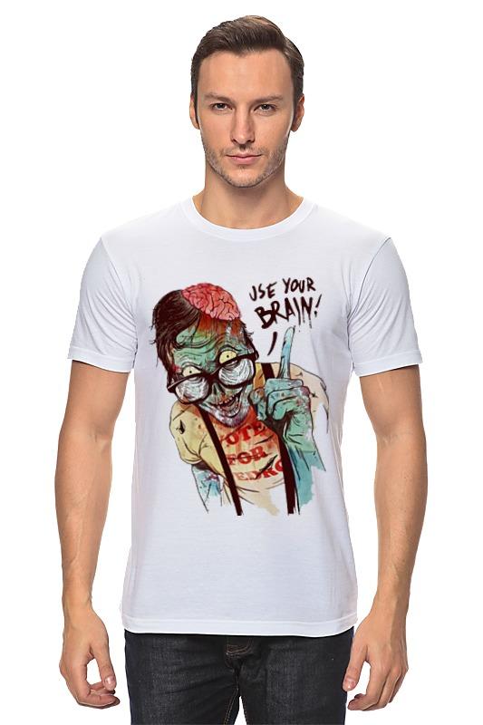 Футболка классическая Printio Clever zombie