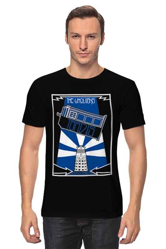 Футболка классическая Printio Тардис (доктор кто) футболка рингер printio тардис доктор кто