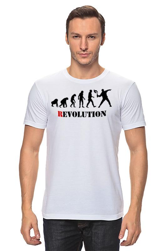Футболка классическая Printio Evolution - revolution цена