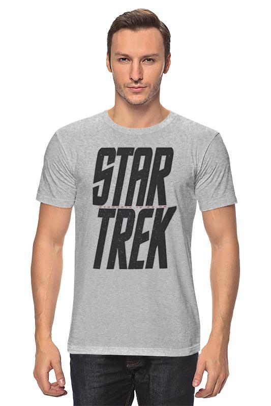 Футболка классическая Printio Star trek / звездный путь star trek the visual dictionary
